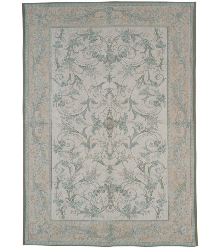 I reeeeeeeally want this rug from Laura Ashley. It's called Malmaison in Duck Egg *cue Homer Simpson drooool noise*. Anyone feeling benevolent?! :)