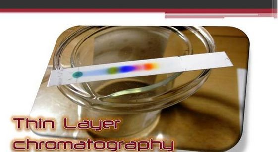 The thin layer chromatography may be utilized to control the development of reaction, recognize substances present in provided mix and find the cleanliness of element.