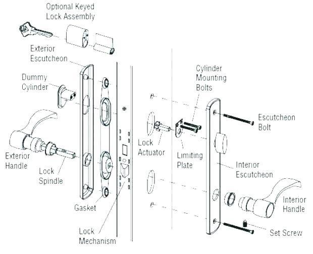 Door Lock Parts Wiring Diagram Gearbuddyco Weiser Door