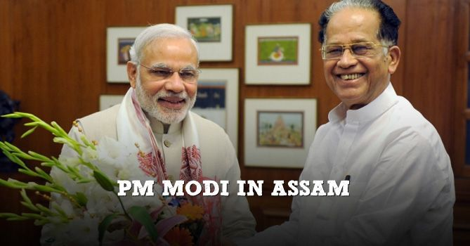 With elections in Assam just a few months away, the state has already plunged into the election mode. On Tuesday, Prime Minister Narendra Modi spoke at an election rally in Kokrajhar which was organized by its new ally Bodo People's Front. The Prime Minister kick-started his rally with scathing attacks on the Congress and also talked about a slew of initiatives for Assam. #Modi #NarendraModi #India #Assam #BJP #Congress #Bodo #Tribe