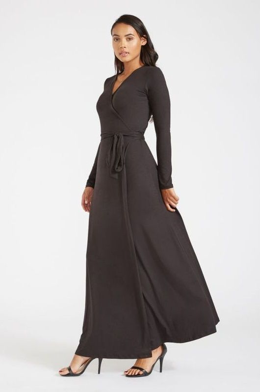 b034928316c Black Maxi Dress For Tall Women - The new fierce
