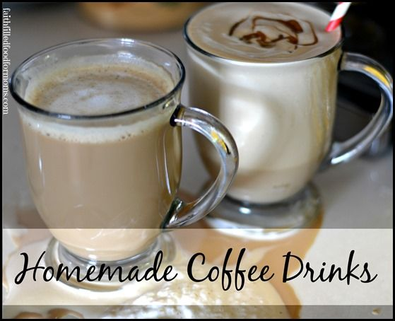 How to make espresso at home and enjoy homemade gourmet coffee drinks, like Lattes or Icy Coffee Milkshakes!