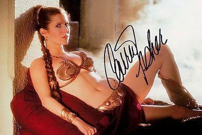 STAR WARS ~ Slave Princess Leia ~ Carrie Fisher - photo RP COPY! VERY NICE! F1