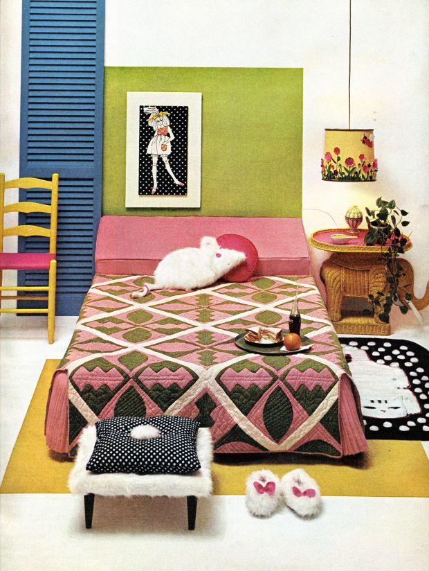 59 best 1970s bedroom images on pinterest vintage for 1950s bedroom ideas