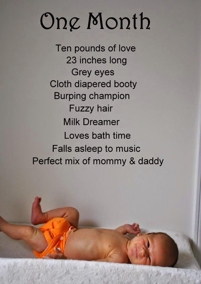 Track Your Baby's Milestones With This Creative Monthly Photo Idea! #sponsored #orajel #babyorajel