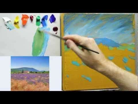 How to paint like Monet: Lessons on Impressionist landscape painting techniques - Part 1