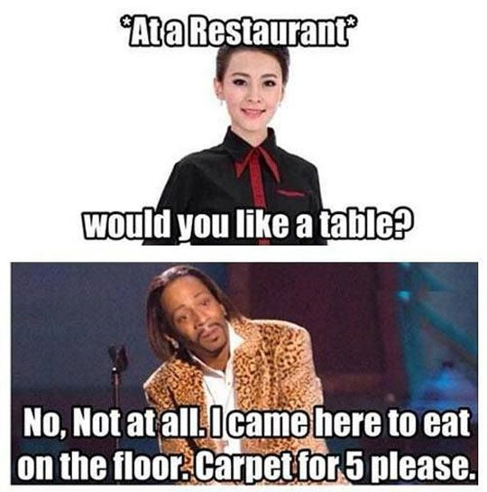 Would you like a table?  - funny pictures #funnypictures