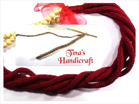 crochet & knitting cord (2 video)