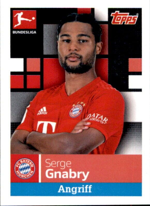 Logo FC Augsburg TOPPS Bundesliga 2019//2020 Sticker 4
