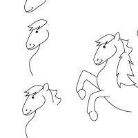 25 best ideas about dessin poney on pinterest dessin cheval dessin de cheval and coloriage - Comment dessiner un poney ...
