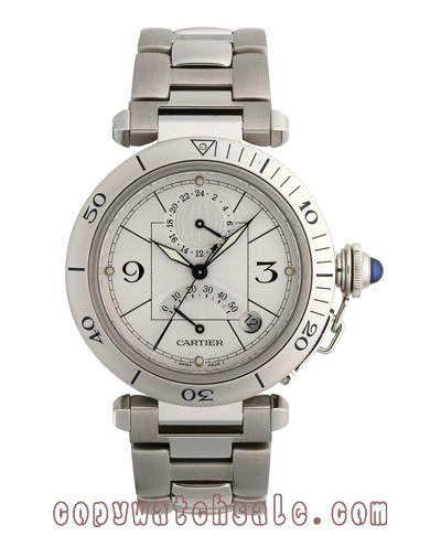 Cartier Watches Men   w31037h3 - Cartier Pasha GMT Mens Watch W31037H3,Discount Cartier