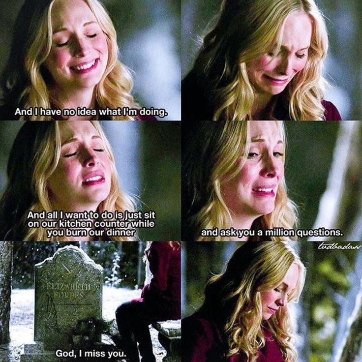 Awww I'm sorry Caroline......