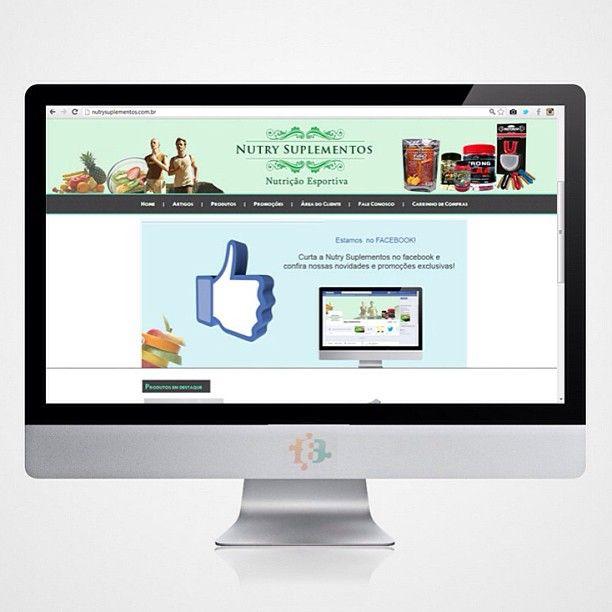 Mais um novo site no ar! É o site da Nutry Suplementos - Nutrição esportiva: produtos para o seu treino e sua saúde! Conheça a loja na rua Eraldo Lins Cavalcante , Barro Durro! Comprando pelo site o frete é GRÁTIS! ( válido para toda Maceió ) www.nutrysuplementos.com.br #job #work #agencia #3B #novo #site #relacionamentos #frete #gratis #vendas #suplementos #treino #esportes #clientes #webdesign #news #lancamento #webstagram #loja #maceio #instamcz #academia #fisionutry