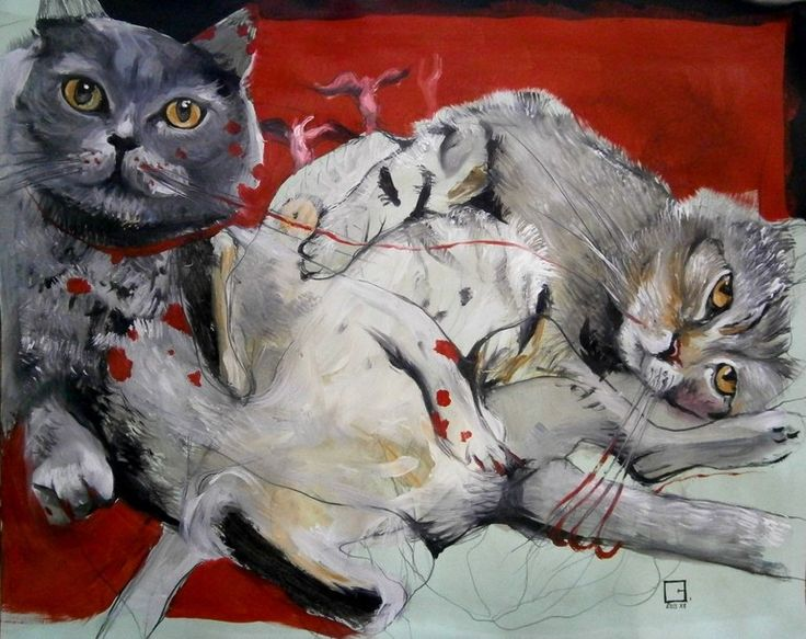 red domination in cat kindom, olga gal