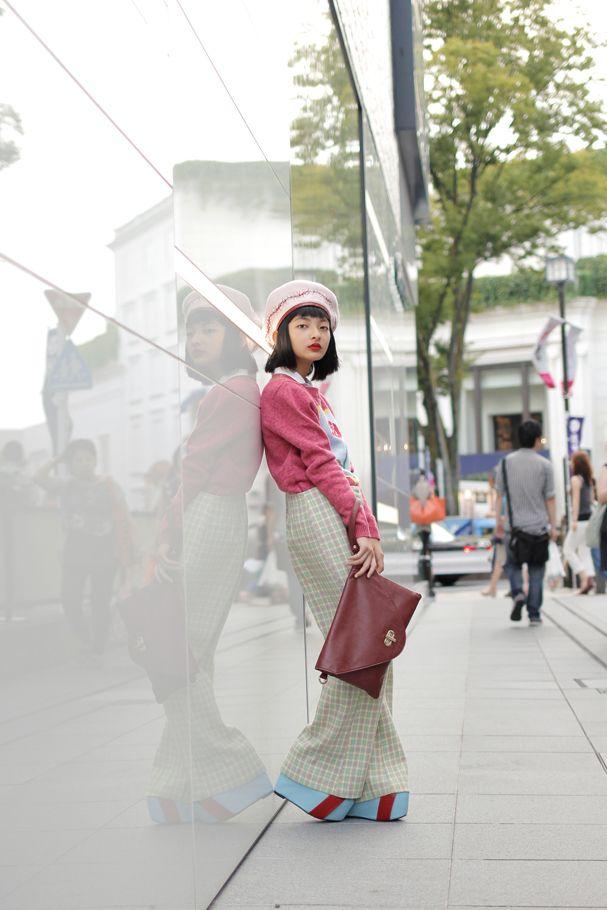 [Street Style] Mappy | 中学生 | Harajuku (Tokyo)