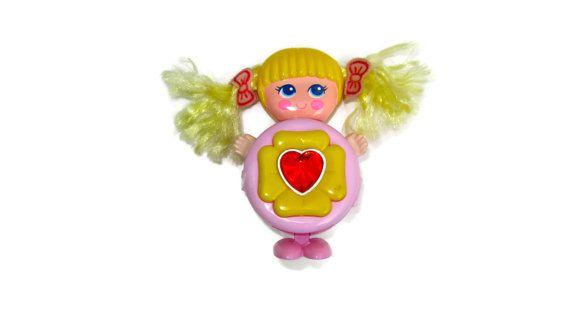 Sweet Secrets Shinie Galoob pink heart gem 1980s 80s toy