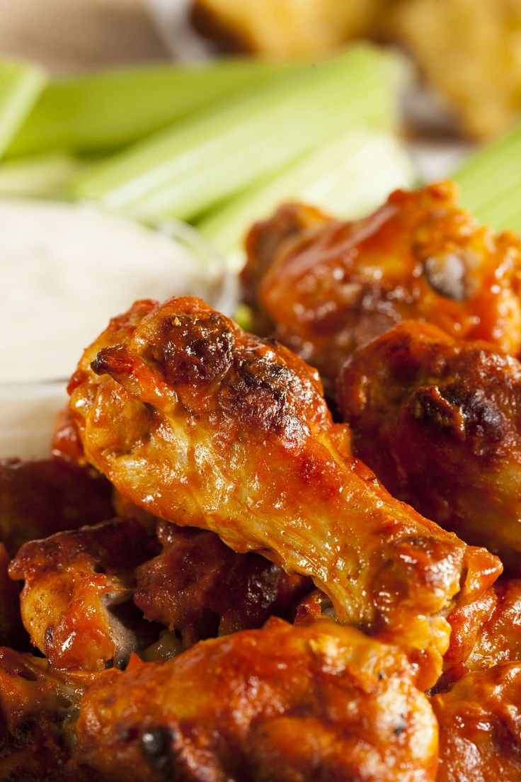 Party Recipe:  Our Favorite Buffalo Wings...saving this for the wing sauce recipe to put on cauliflower.