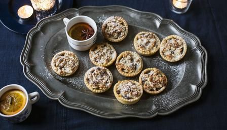 Mincemeat and orange feathered tarts - Mary Berry