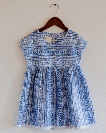 aztec weekender dress