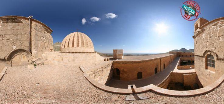 """""""MARDİN DEYRULZAFARAN""""  Mardin Deyrulzafaran Manastır'ı Sanal Tur İle 360 Derece Gez.  Mekan360 ile her yerden, gezdiğin yeri 360° hisset"""