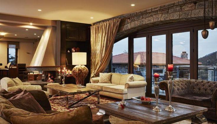 Nefeles Luxury Residence & Lounge, στις παρυφές του Μαινάλου με θέα το Ελατόδασος, στην Ορεινή Αρκαδία μόνο με 199€!