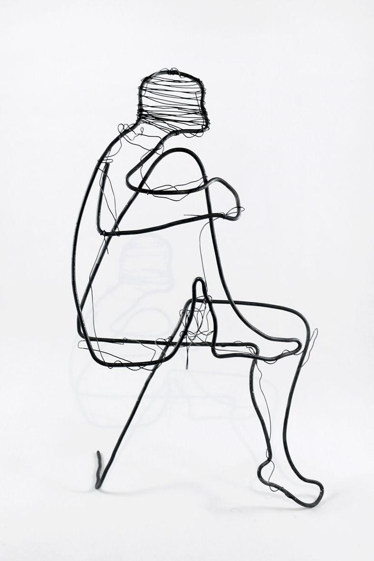 The Shahid-model (without suicide belt) on the master class for sculpture in the city of Gelendzhik. --- Wire art work (heat-treated steel - diameter 3.0 / 0.7 mm) ---  #abstract #surreal #geometry #minimal #wire #art #artwork #artworks #originalwork #wireart #wirework #artsy #wiresculpture #sculpture #handmade #hand_made #handmadeart #homedecor #design #handmadedecor #artdecor #creative #original #strange #metalart