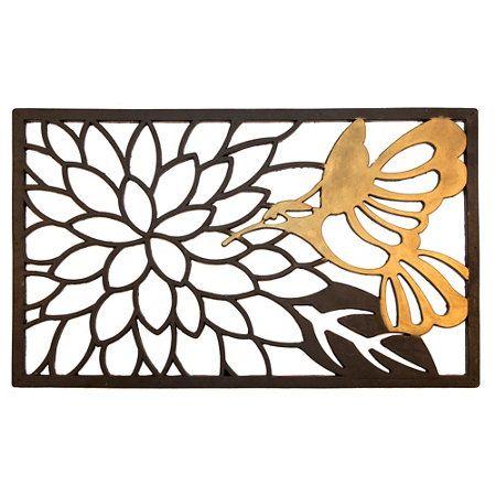 rubber door mat cheap mats into wall art frame