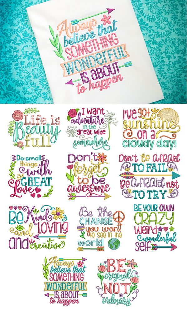 28 best Fun Saying Design Sets images on Pinterest Embroidery - confirmation email templatebaby chart