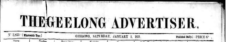 The Geelong Advertiser: TROVE 1859-1924