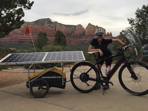 Cross Country Solar Electric Bike Adventure [VIDEO] | Electric Bike Report | Electric Bike, Ebikes, Electric Bicycles, E Bike, Reviews