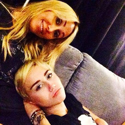Miley and Mother Leticia
