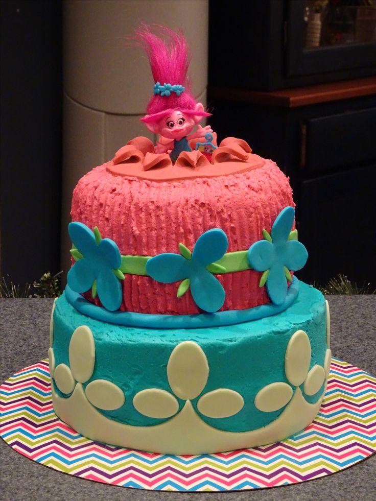Aggie S Sweets Trolls Cake