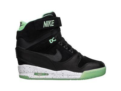 The Nike Air Revolution Sky Hi Women's Shoe.