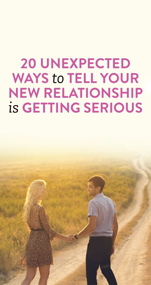 how to tell a guy you want a serious relationship