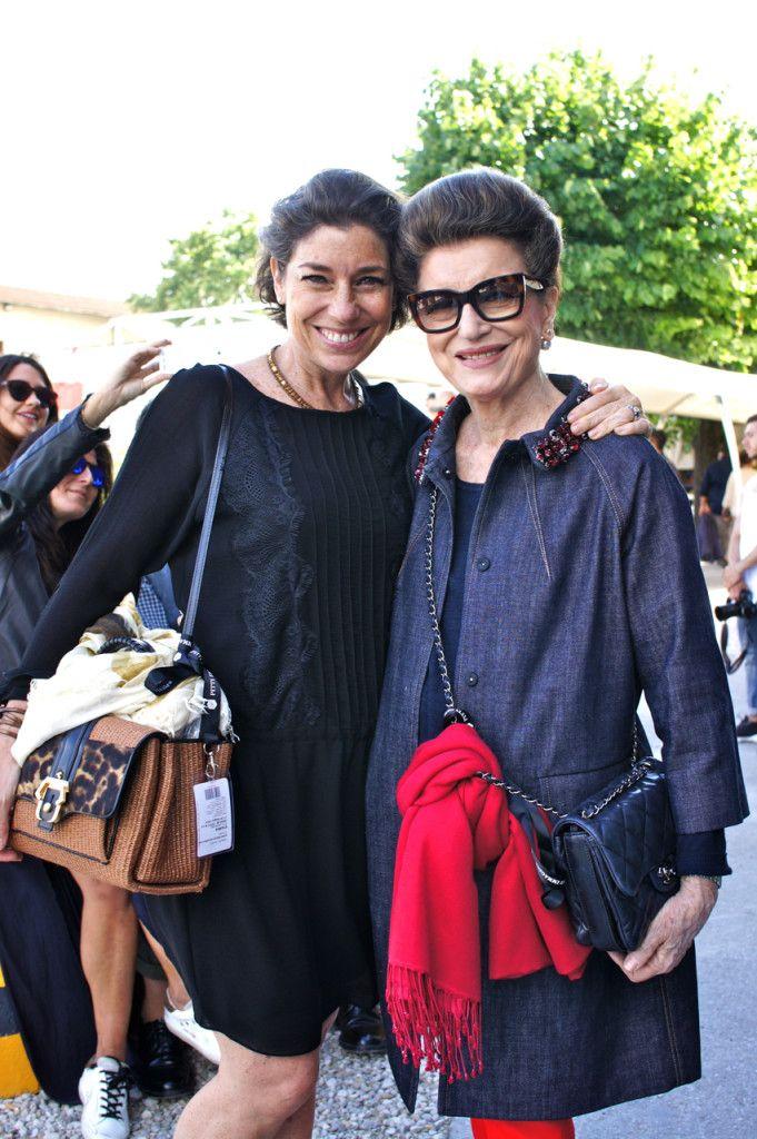 Fui visitar a feira com a minha mãe, Costanza Pascolato. Ela adorou!!