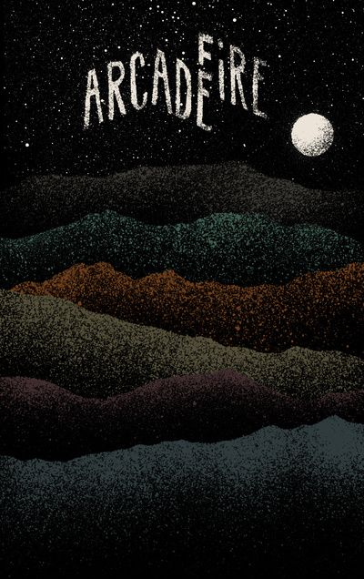 Mountains Beyond Mountains (Arcade Fire) Art Print. Get more inspiration at www.indiereader.com.