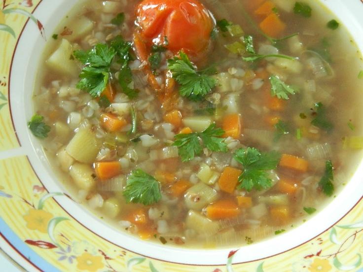 Buckweat soup