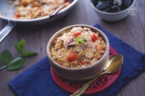 Il couscous ai frutti di mare è un primo piatto fresco e saporito, il gusto…