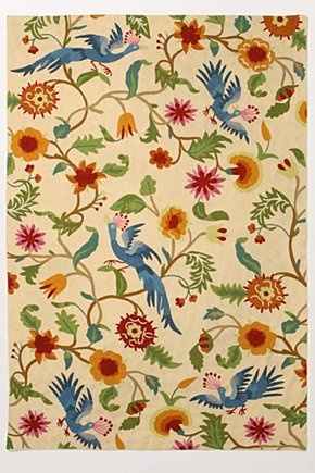 color: Bedrooms Rugs, Dining Rooms, Anthropology Rugs, Anthropology, Pattern, Area Rugs, Mantadia Rugs, Living Rooms Rugs, Colors Birds