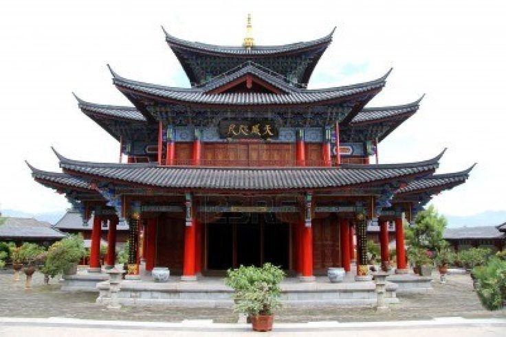 Old chinese pagoda in Lijiang, China