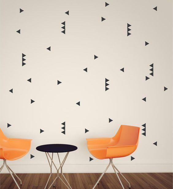 Vopsea. Tapet. Panel de lemn. Oglinzi. Stickere.  Care varianta iti place cel mai mult?  #peretiidesigninterior
