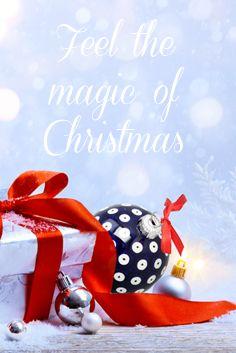 Feel the magic of Christmas