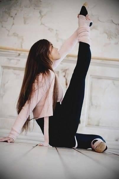 #stretch #dance #ballet
