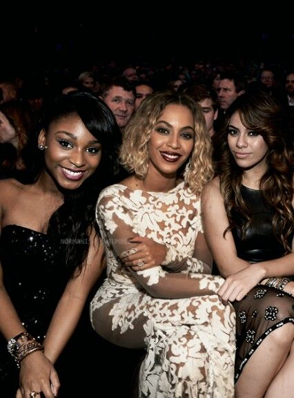 Normani Kordei, Beyonce and Dinah Jane Hansen. I. Am. Done ...