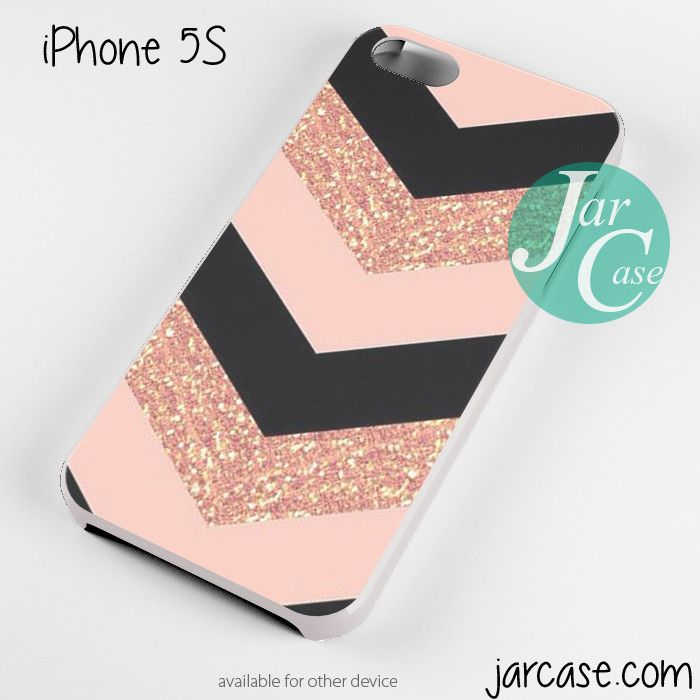 Pink Glitter Chevron Phone case for iPhone 4/4s/5/5c/5s/6/6 plus