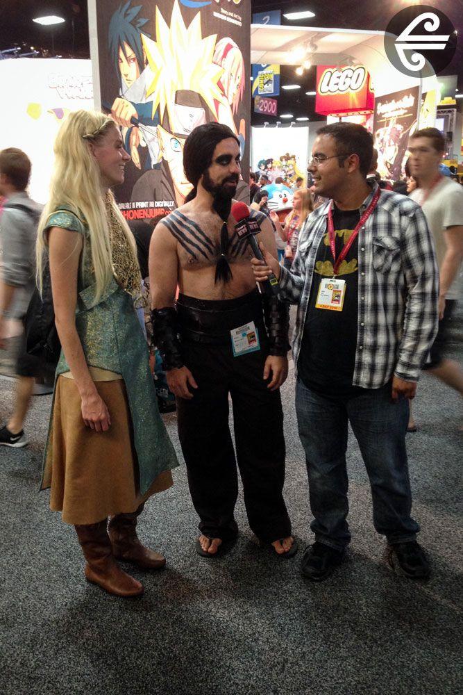 Comic-Con International 2014 #AirNZ #Comic-Con #SanDiego #GameofThrones