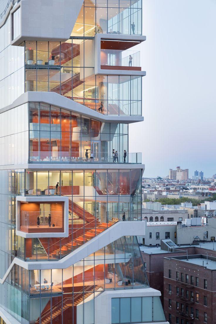 Rampen für die Forschung - Unihochhaus in Manhattan von Diller Scofidio + Renfro