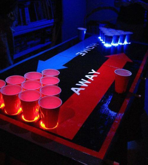 cool beer pong table