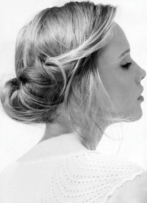 Messy Up-Do's Are The Best.