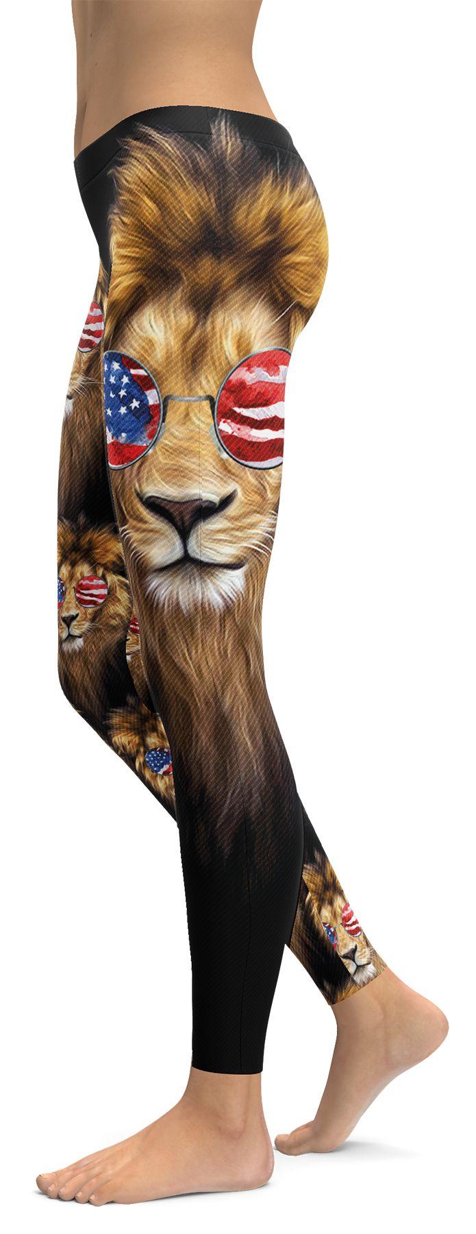 American Lion Leggings By GearCrew